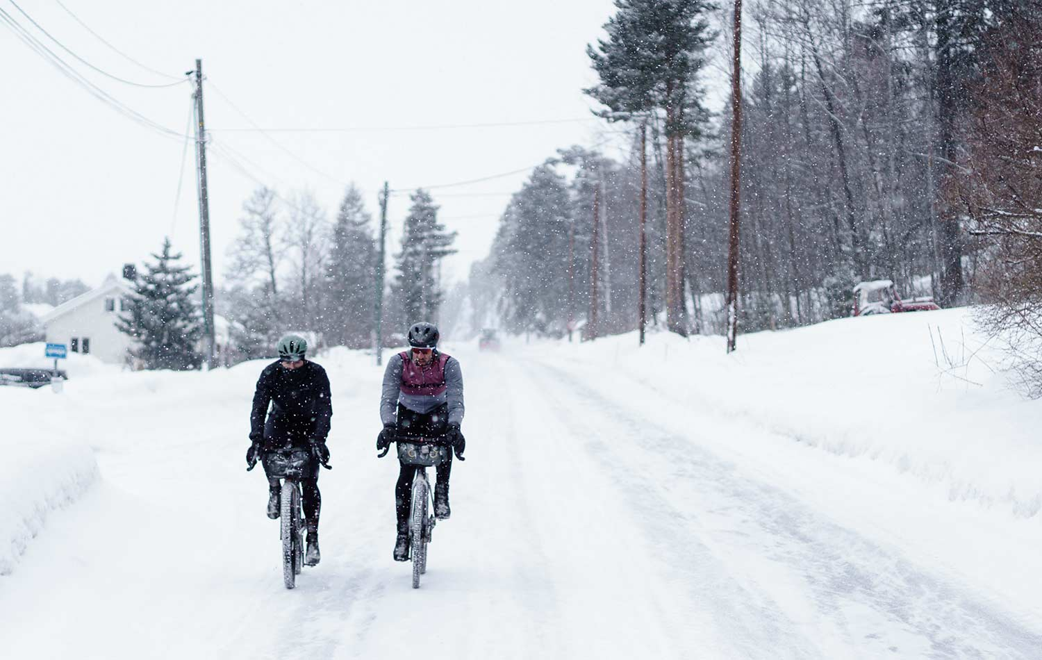 cycling advice for winter winter bike trip