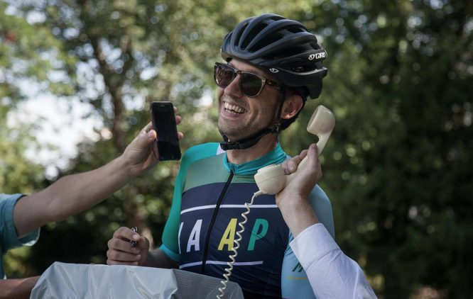 Greg Hilson Apidura member presentation for Transcontinental race 2018 - 1