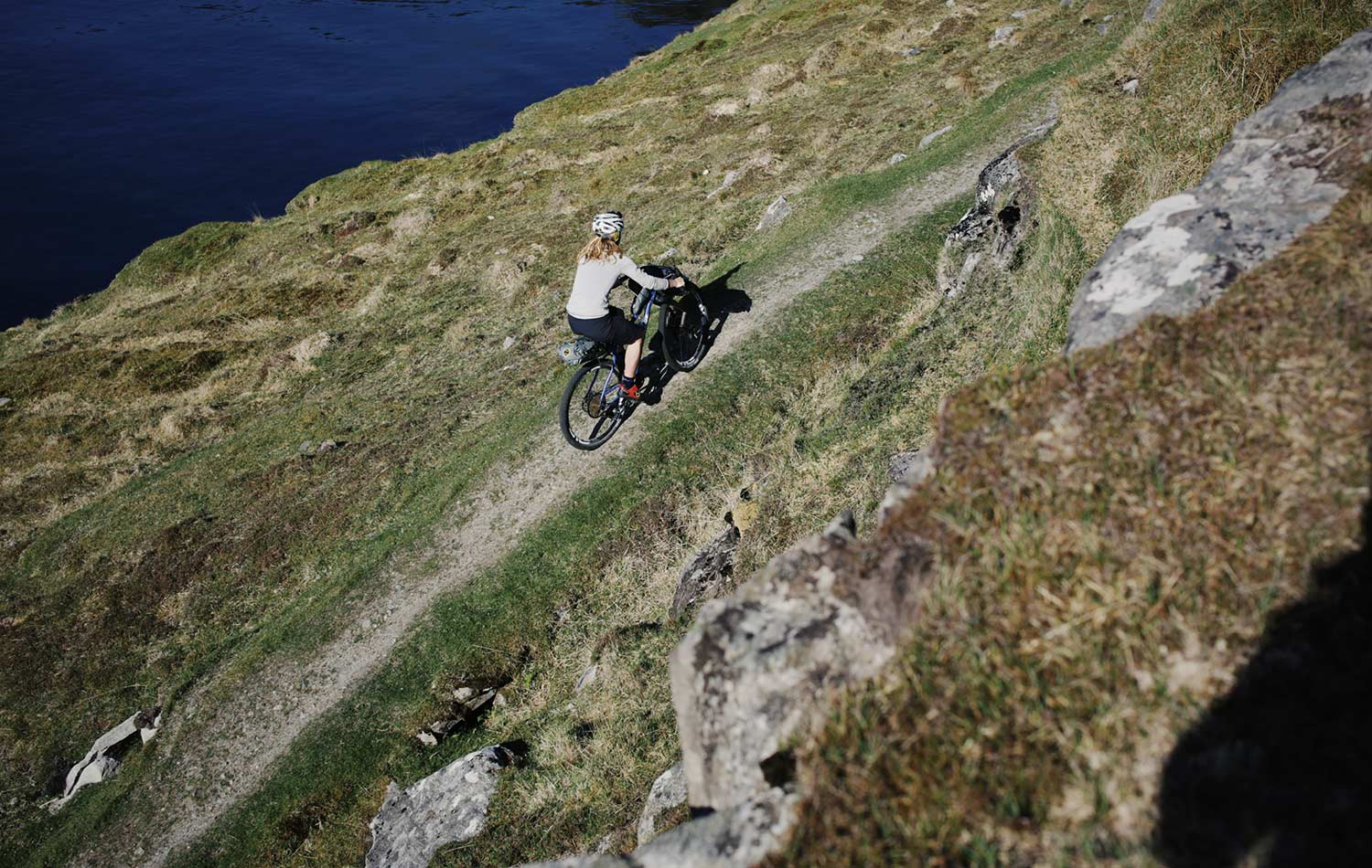 highland trail bike trail in scotland