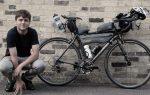 joe todd transcontinental rider with apidura packs testimonial