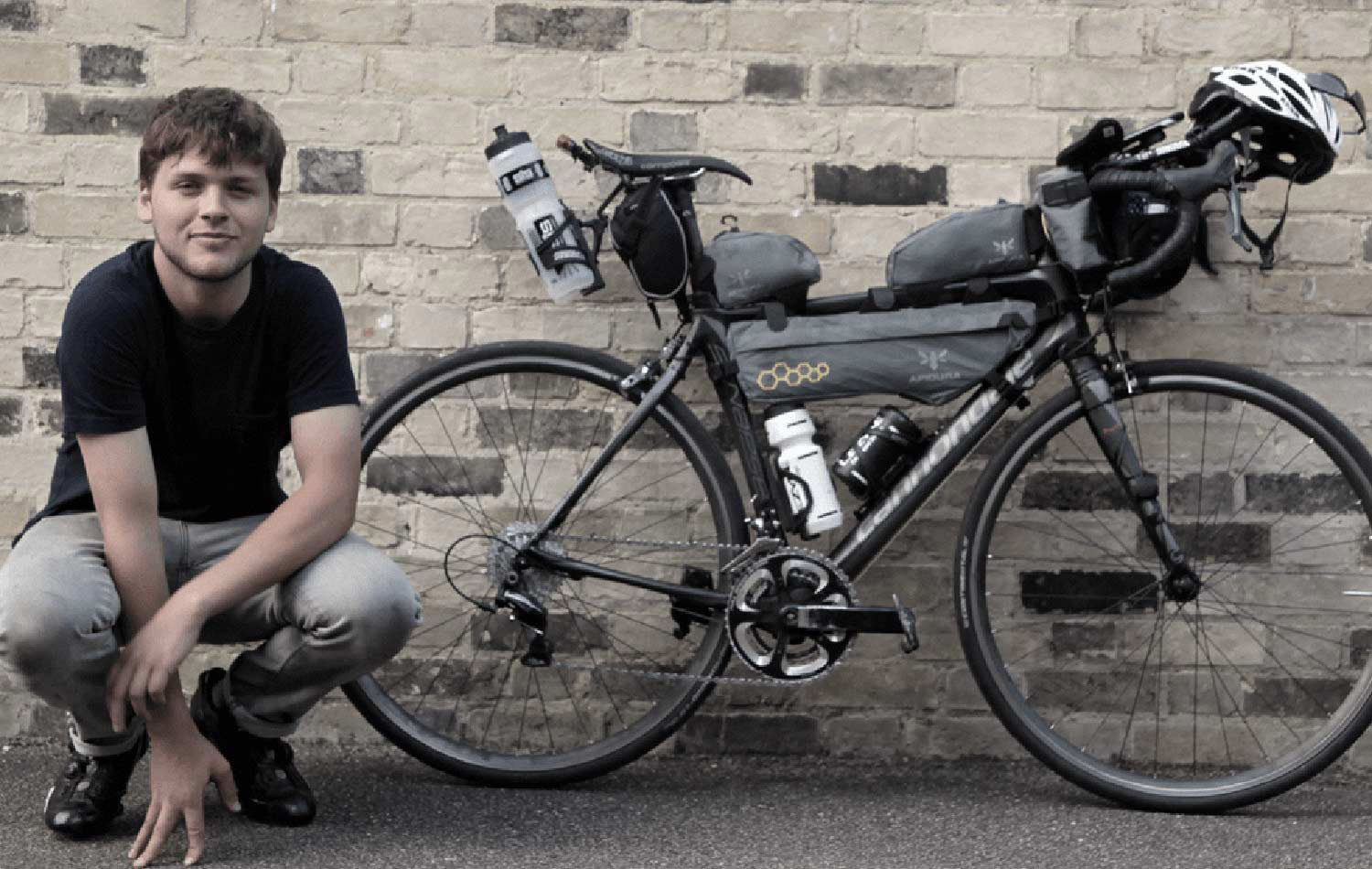 joe todd transcontinental rider with apidura packs testimonial