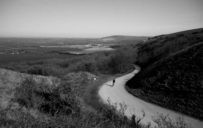 landscape in a bike trip worthridingto