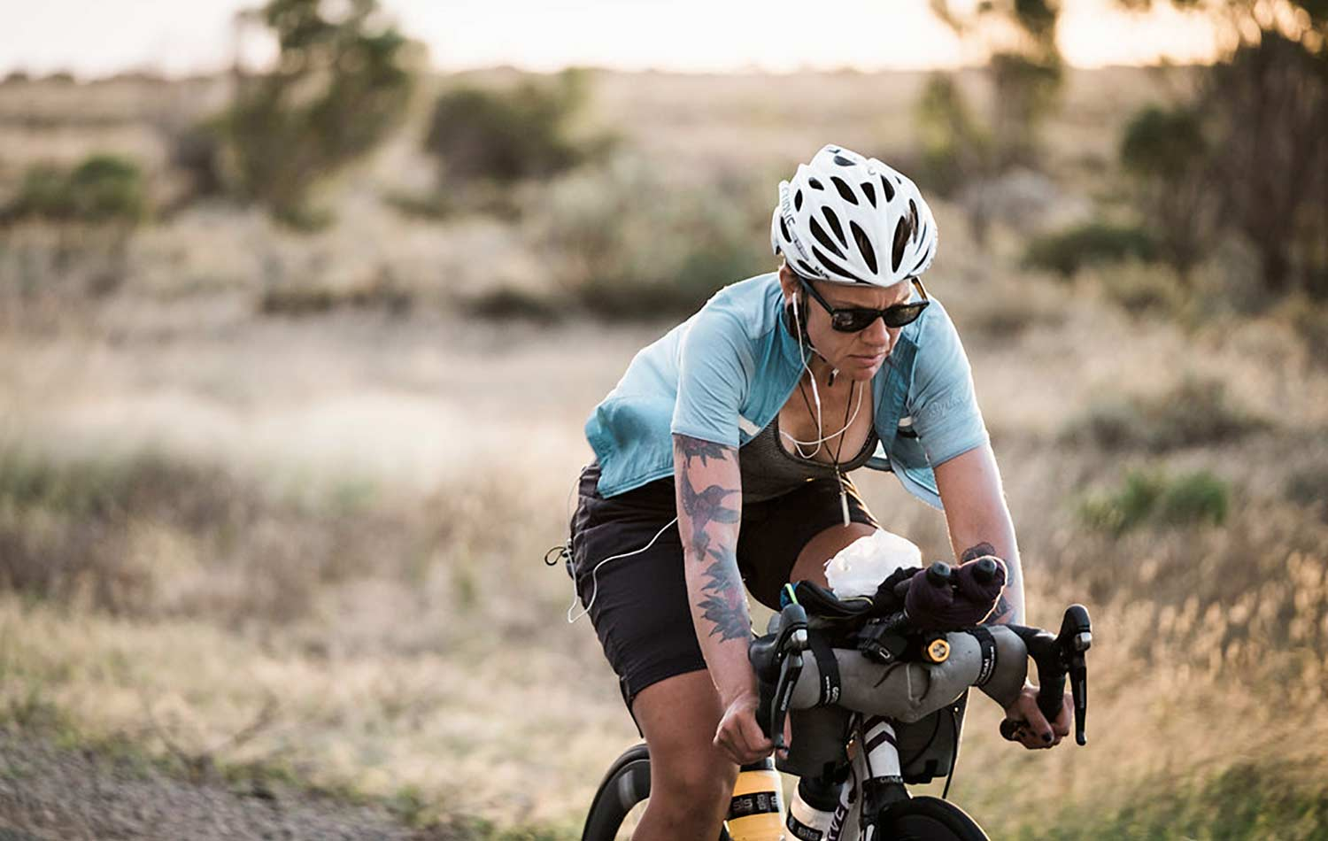 packing for a bikepacking adventure with sarah hammond
