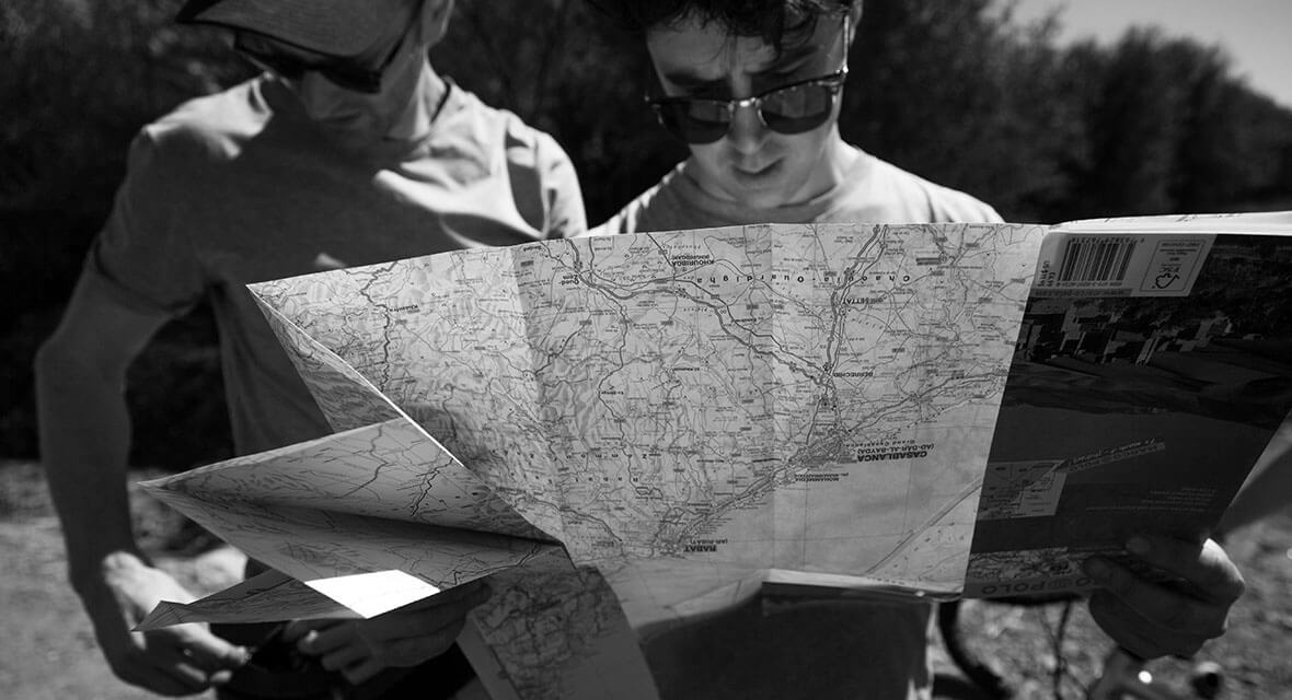 Planning a Route for the Transcontinental Race