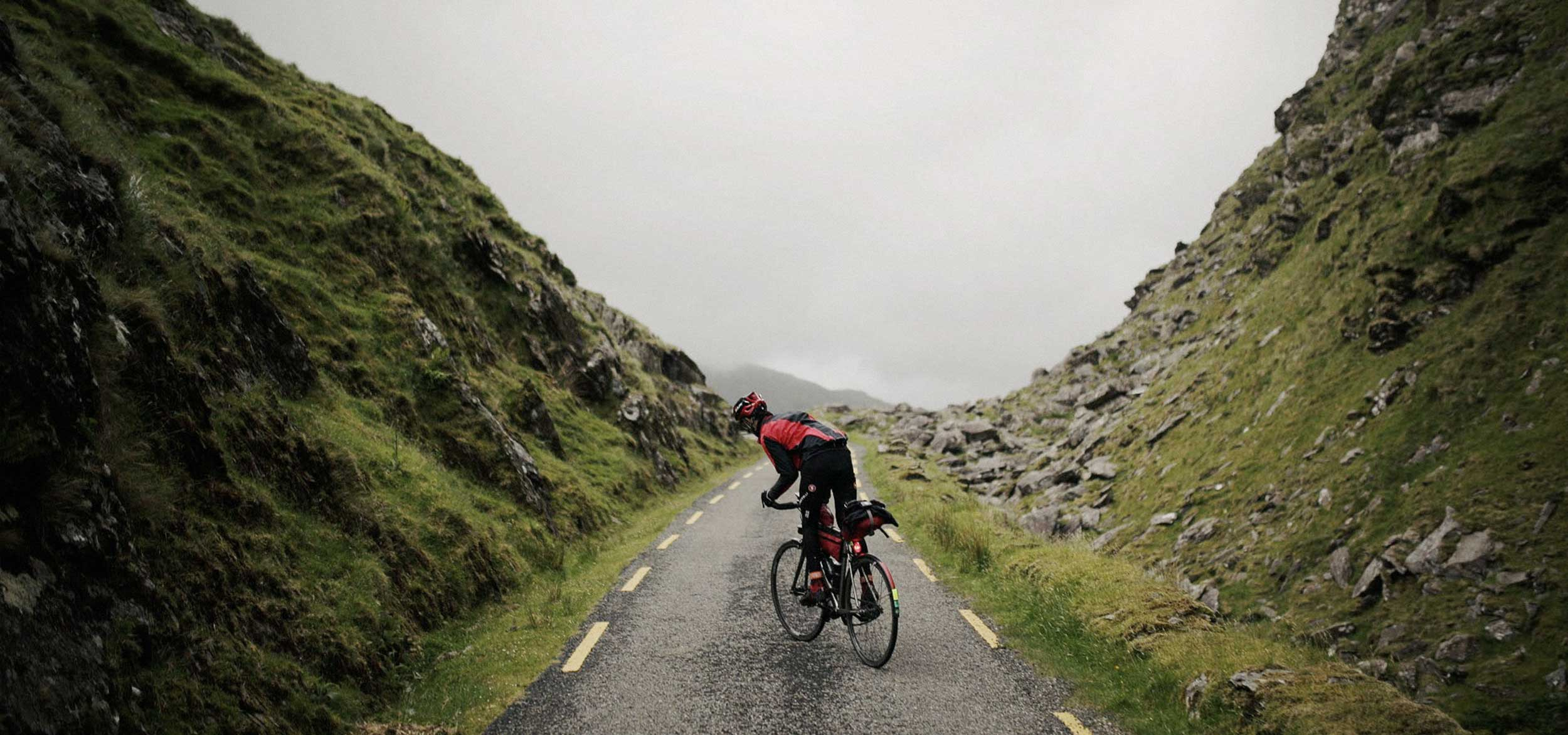 transatlantic way race cyclist
