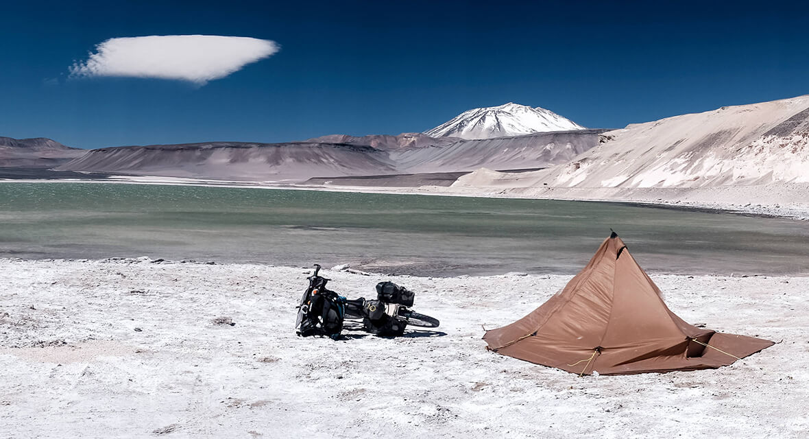 Their Only Portrait A South American Bikepacking Trip