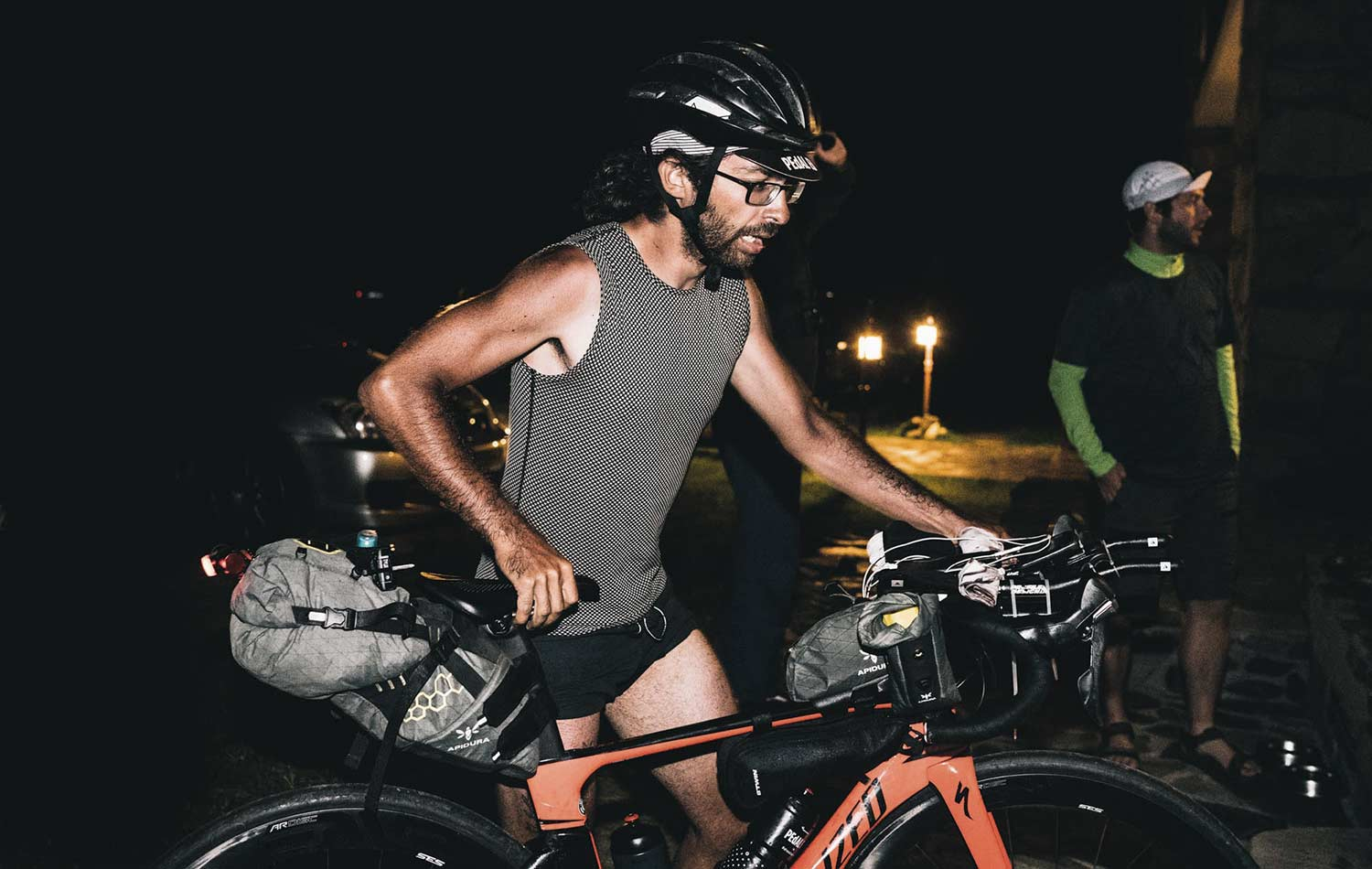 transcontinental race testimonial Stephane Ouaja Alleycats fixed gear