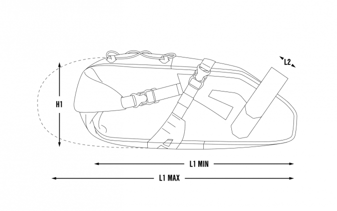 saddle pack dimensions