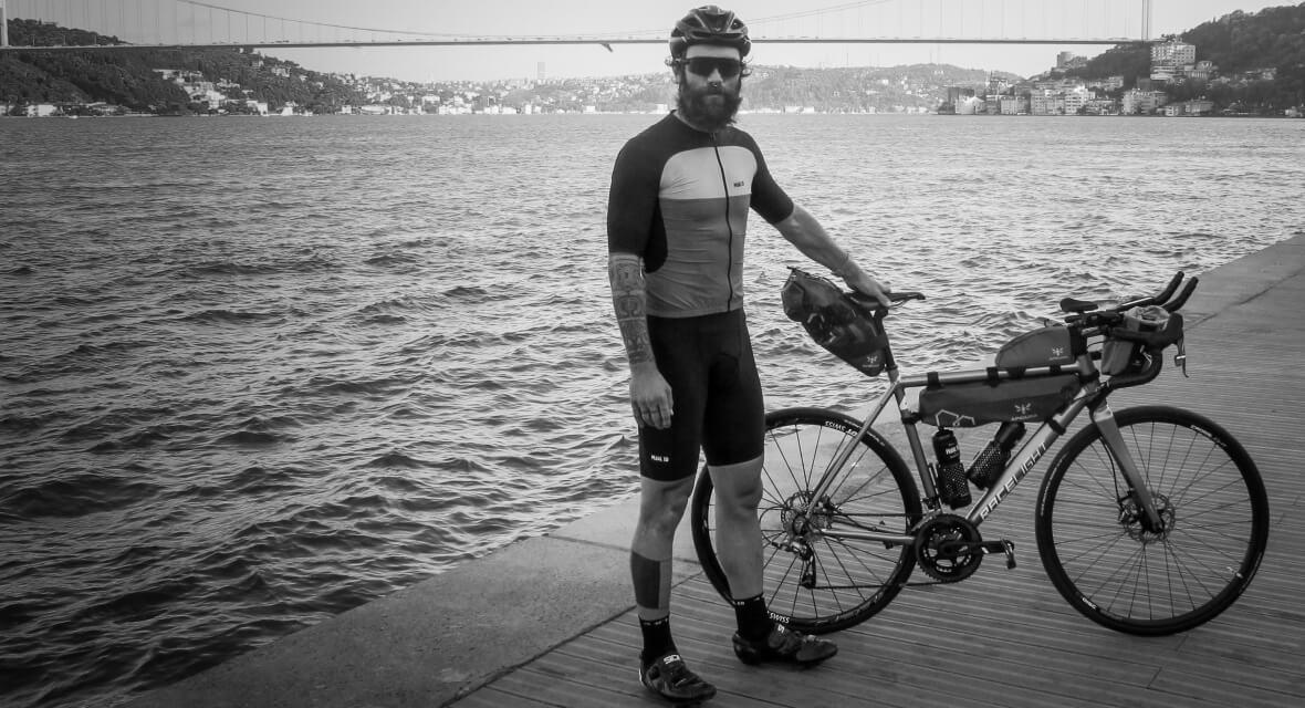 Berk Okyay: Transcontinental Race Rider 171 Apidura