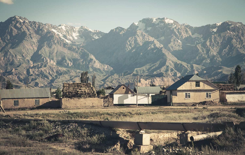 Apidura Ambassador's Marc Maurer - Kyrgyzstan Landscape