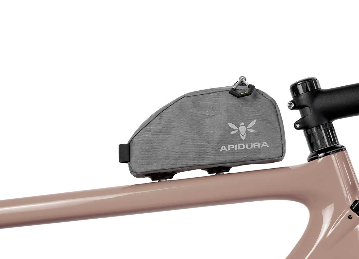 Backcountry Magnetic Top Tube Bag profile - Bolt On Top Tube Bag | Apidura
