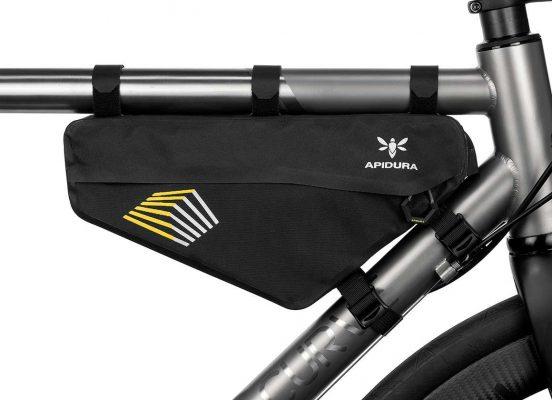 apidura racing bikepacking bag frame pack waterproof