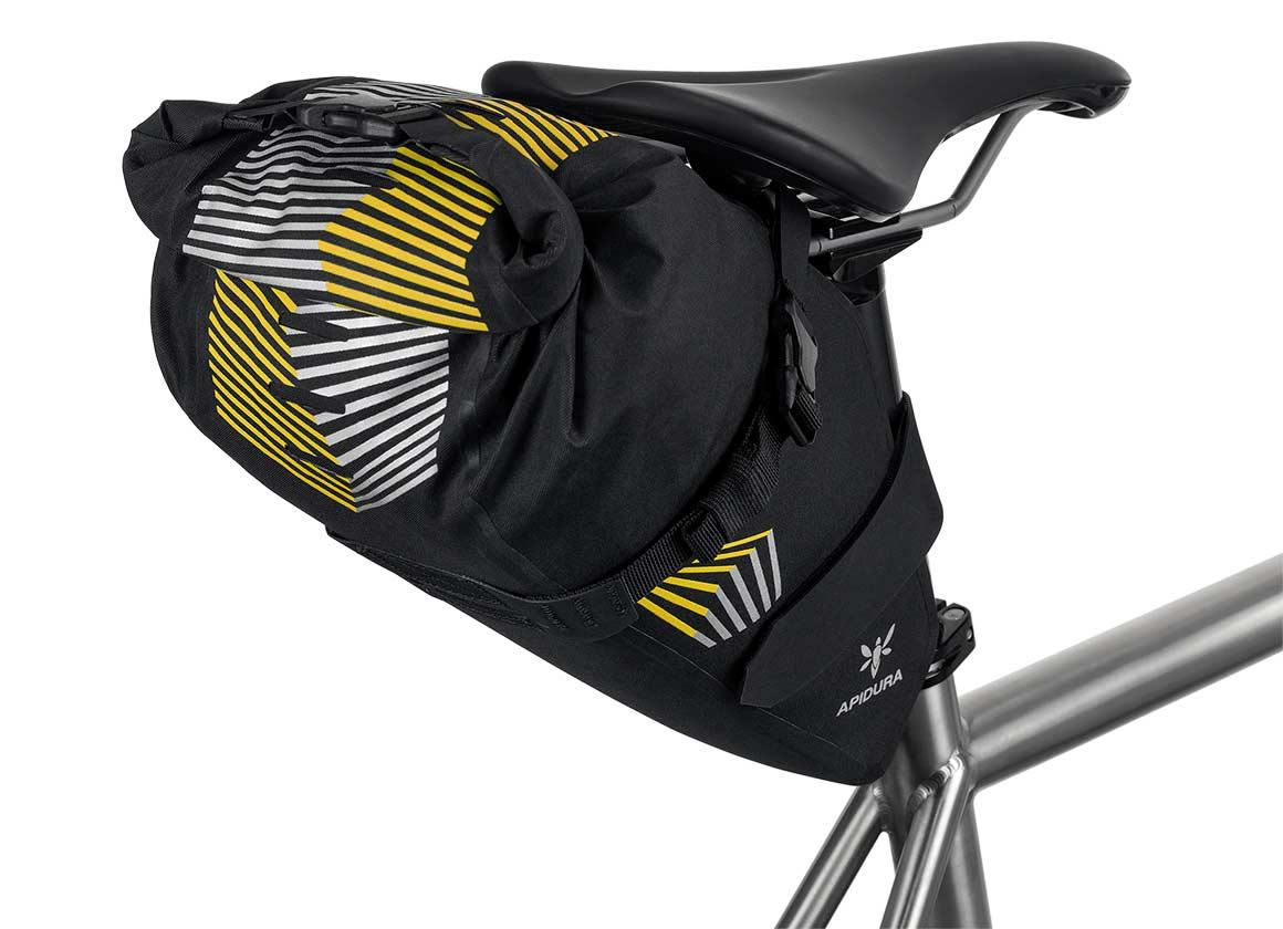 Apidura Racing Bikepacking Saddle Bag rear view
