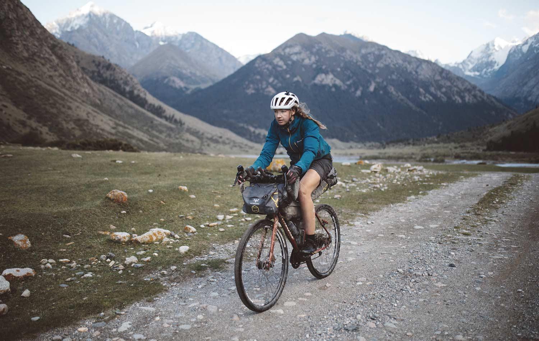 Jenny Tough racing in Kyrgyzstan | Apidura