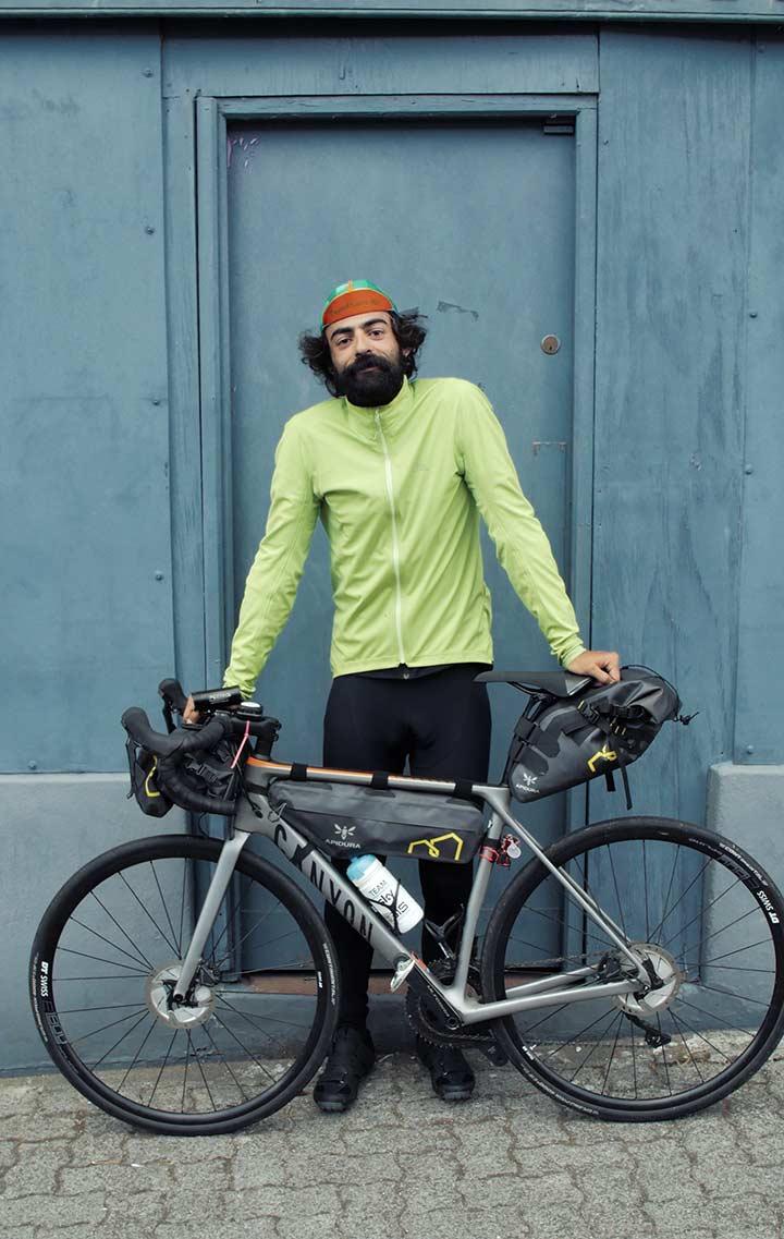 tomy mulledy bikepacking the Transatlantic Way Race | Apidura