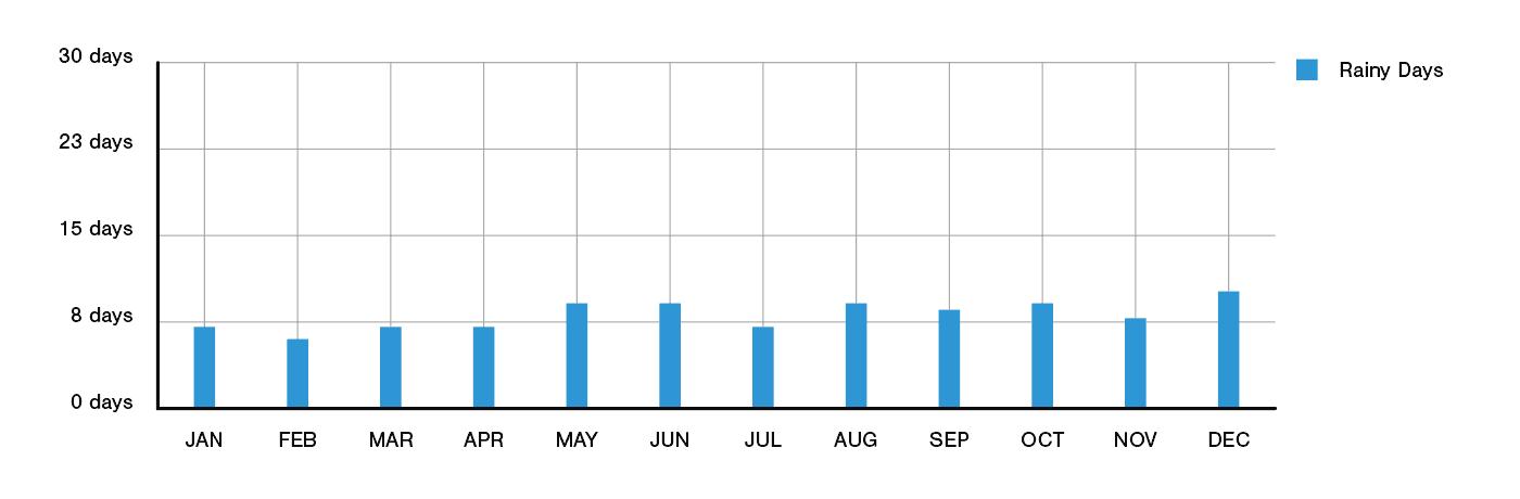 Queenstown Rainfall