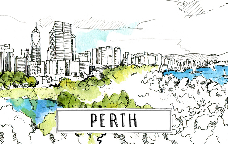 A paint of Perth