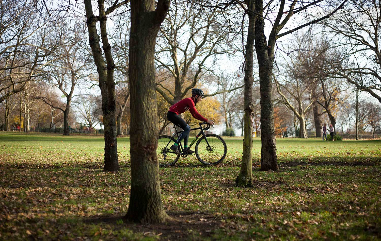 Cycling Regents Park