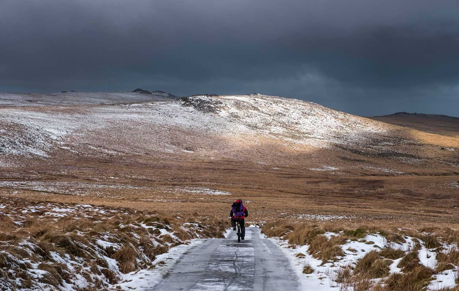 Dartmoor Forest cycling