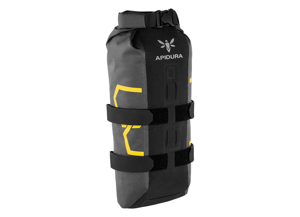 Apidura expedition waterproof fork bag bikepacking alone