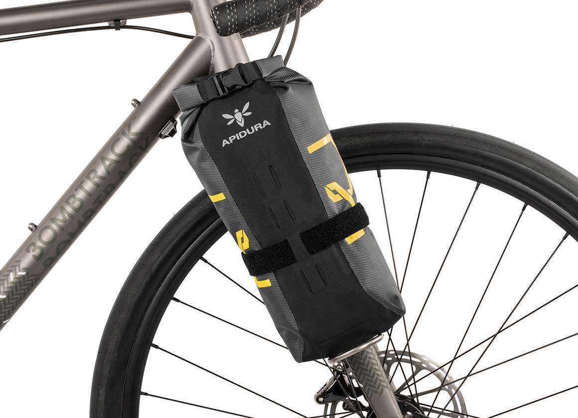 Apidura expedition waterproof fork bag bikepacking