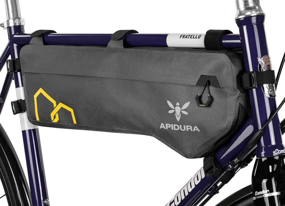 apidura bikepacking tall bag expedition compact large frame pack waterproof