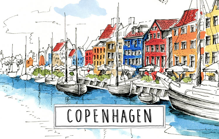 A paint of Copenhagen