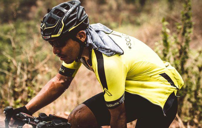 Rodney Soncco cycling
