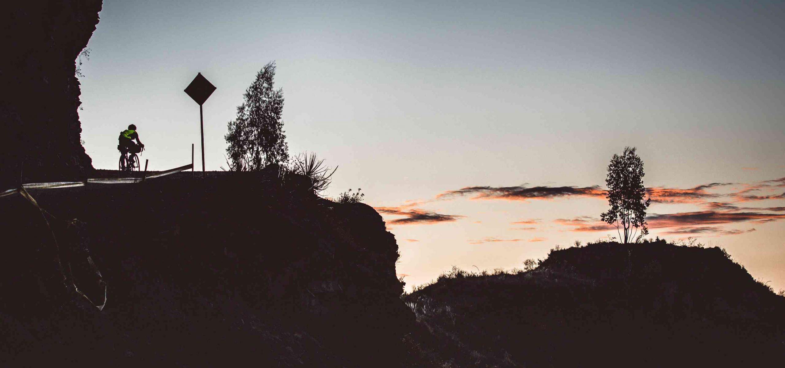 Rodney Soncco BikingMan sunset