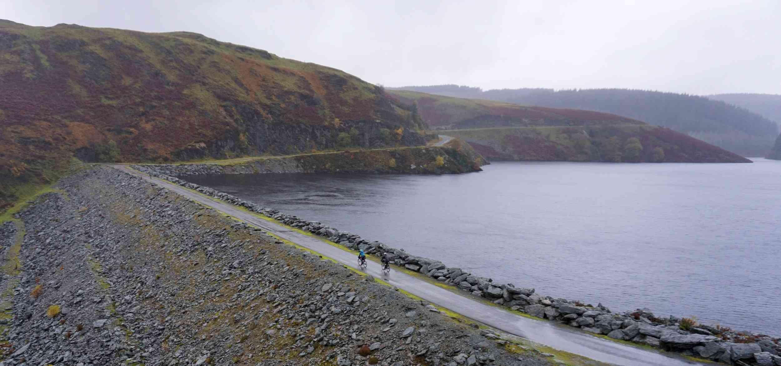 Dam road riding