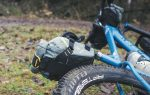 Dropper Saddle Pack on a Mountain bike