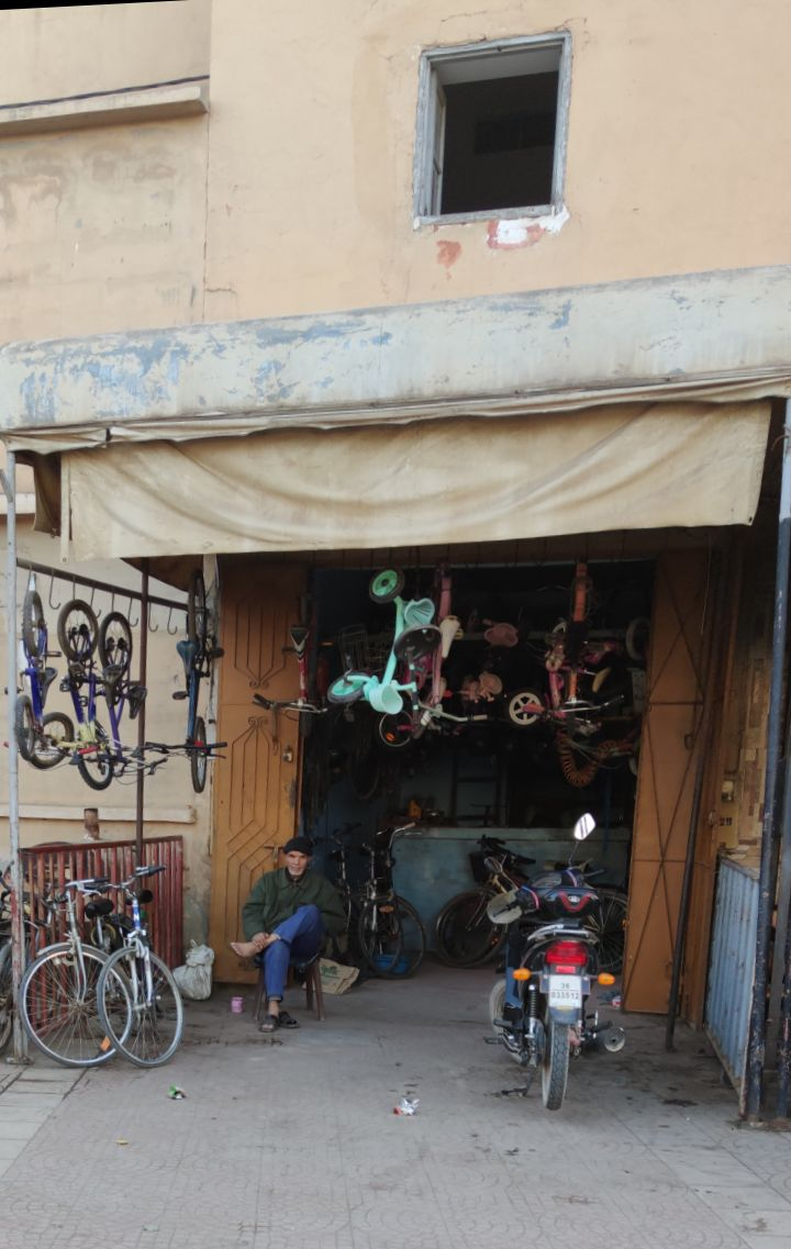 Moroccan Bike Shop