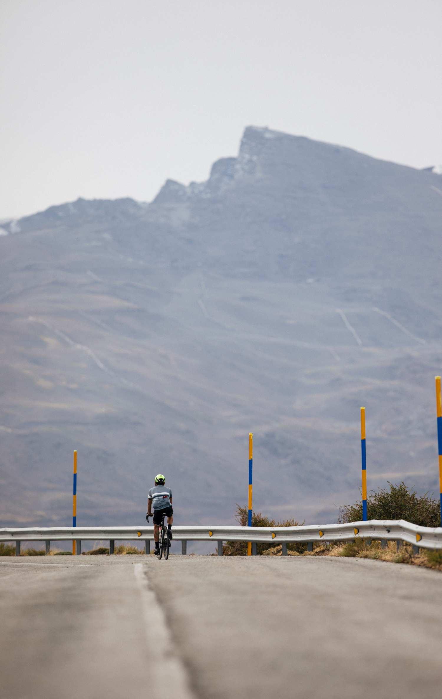 Rider on Veleta
