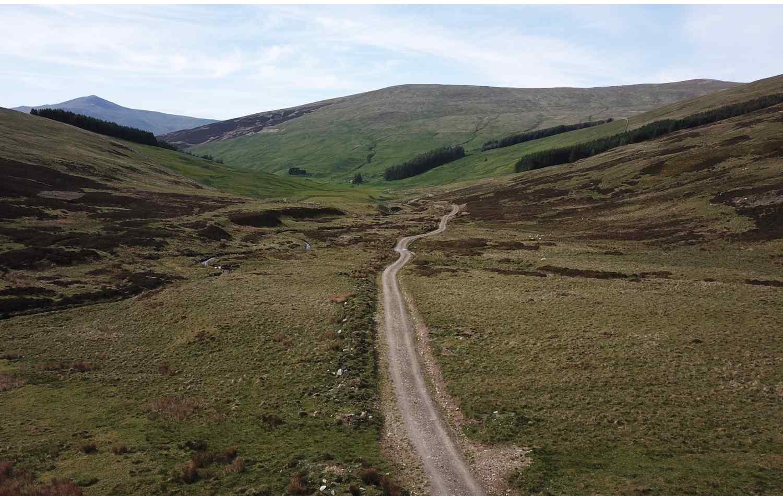 The Ardtalnaig to Comrie Drove Road