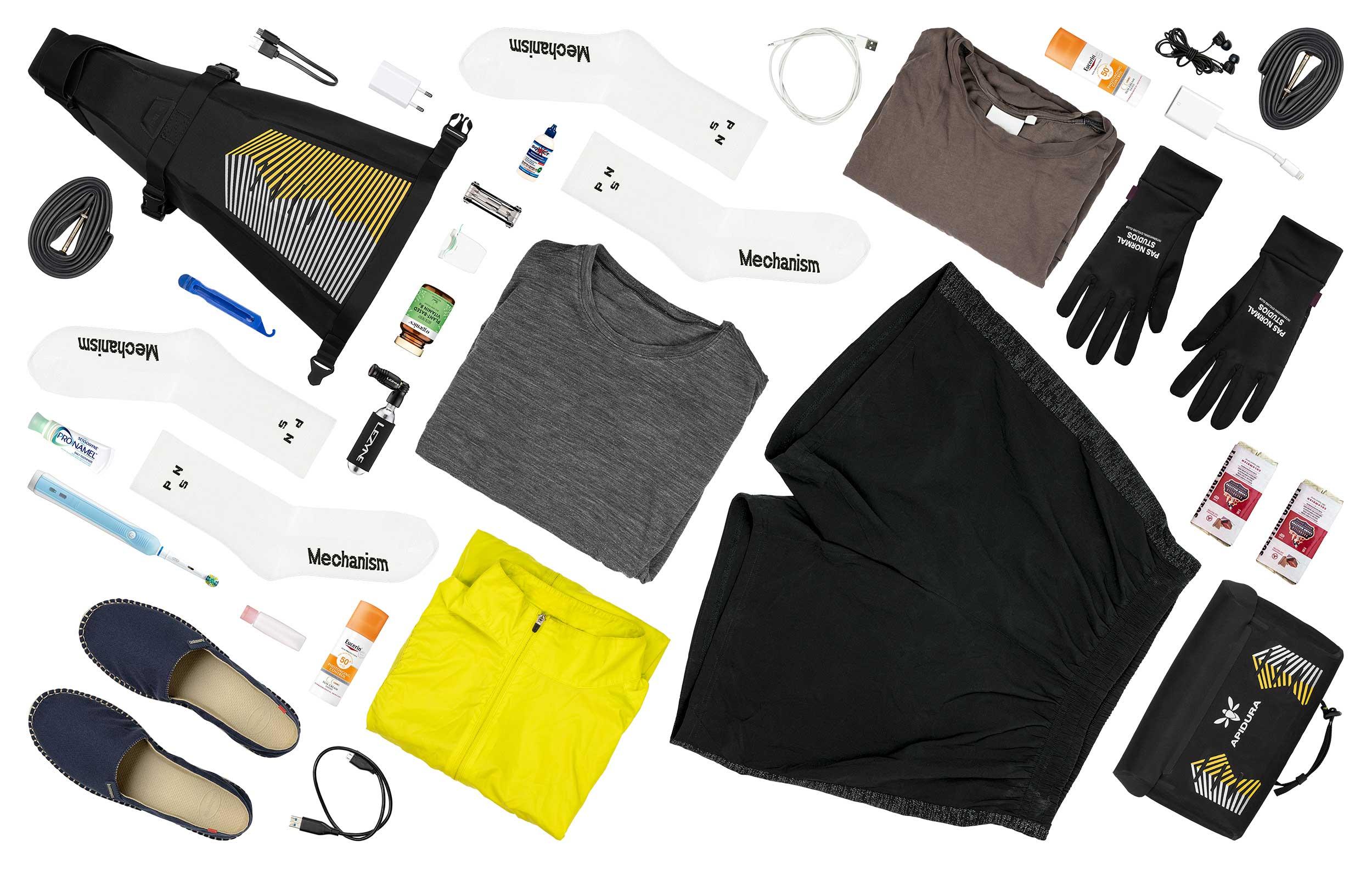 Joe Rass-Court's Fastpacking Columbia Kit Grid