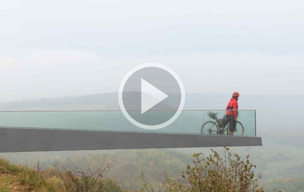 Markus Stitz looks out over the Iron Curtain Trail
